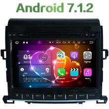 Android 7.1.2 2Din Quad Core Car DVD player GPS Wifi 2GB RAM 16GB 3G 4G wifi support For Toyota Alphard 2007-2013