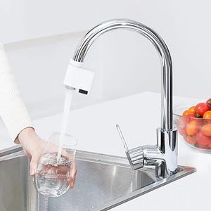 Image 3 - Xiaomi Xiaoda grifo automático de ahorro de agua, Sensor inteligente, infrarrojo, ahorro de energía, boquilla de cocina