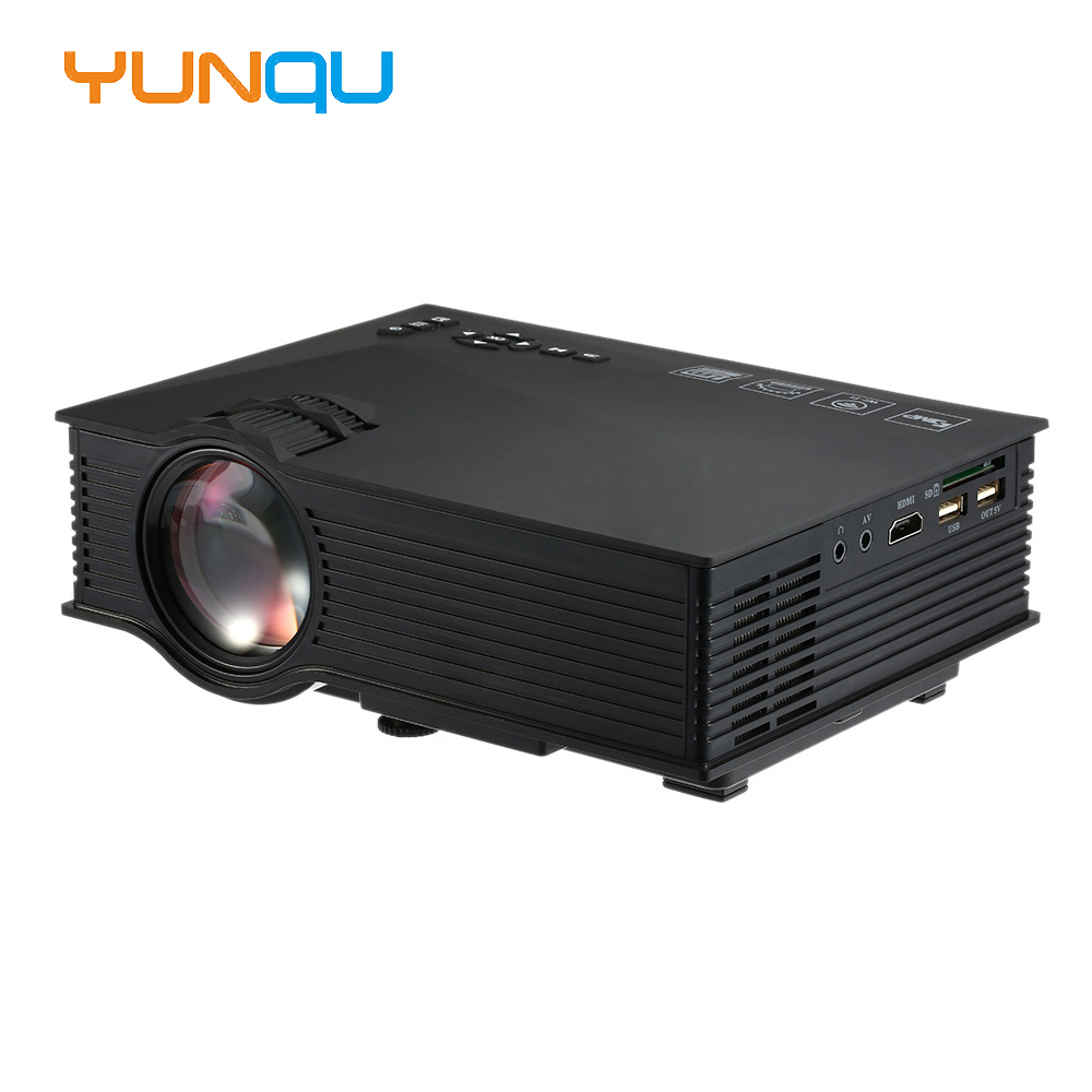 800 Lumens Home Theater Mini Portable Led Multimedia: 2016 Original UNIC UC46 Mini Portable Projector 800x480
