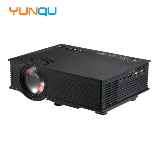 2016 Original UNIC UC46 Mini Portable Projector 800x480 1200 Lumens WIFI Connection Home Theater LED Video Projector Proyector