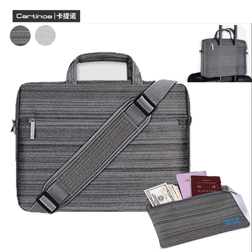 Nylon Men Lady Laptop Shoulder Bag Handbag Case Tote Briefcase Messenger for Dell/ASUS/Lenovo/Macbook 12'' 13.3'' 14'' 15.6'' PC