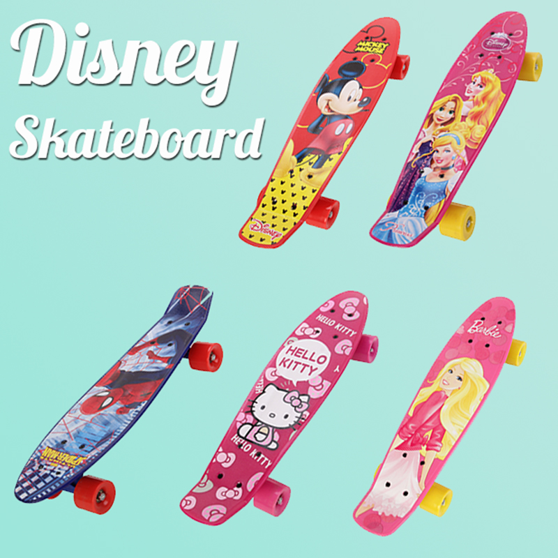 Peny Board Plastic Mini Cruiser Mickey Skateboard Long Board Banana Retro Skate Longboard Complete Skateboards four-wheel skates 2016 new peny board skateboard complete retro girl boy cruiser mini longboard skate fish long board skate wheel pnny board 22