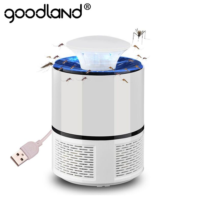 Mosquito Killer <font><b>Lamp</b></font> USB Anti Mosquito Electric Silent Bug Zapper 5V LED Mosquito Trap for Outdoor Bedroom Insect Killer