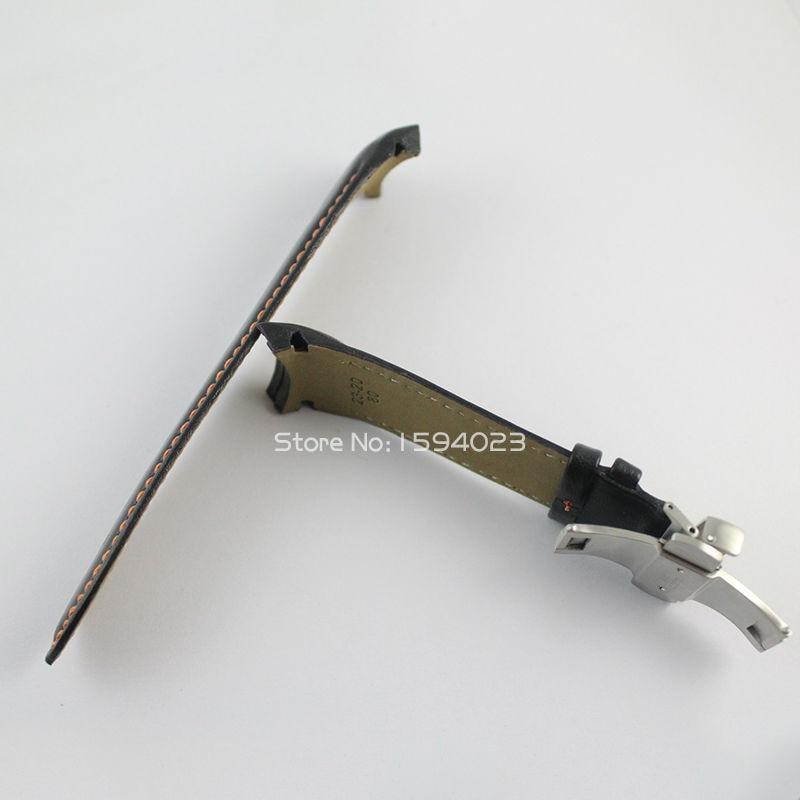 23 mm (přezka 20 mm) T035617 / T035439A Stříbrná spona motýlů - Příslušenství k hodinkám - Fotografie 6