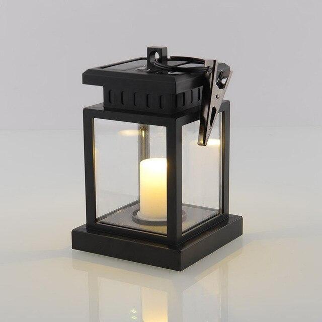 Us 1699 7lm Latarnia Słoneczna Doprowadziły światła 3000 K Ip44 Metalowy Klips Ni Mh Bateria Litowa Lampa Na Dziedzińcu Ogród Balkon Oświetlenie