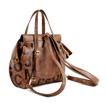 Loodial  Handbags brand high quality New Tassel Bag leather Shoulder Bags Multi-functional Lady Bag Messenger bag female