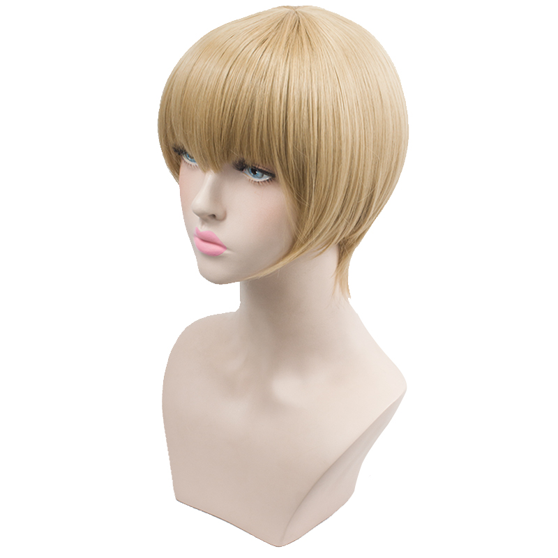 HSIU A + kuzu no honkai Cosplay Wig Mugi Awaya Costume Play Woman Adult Wigs Halloween Anime Game Hair