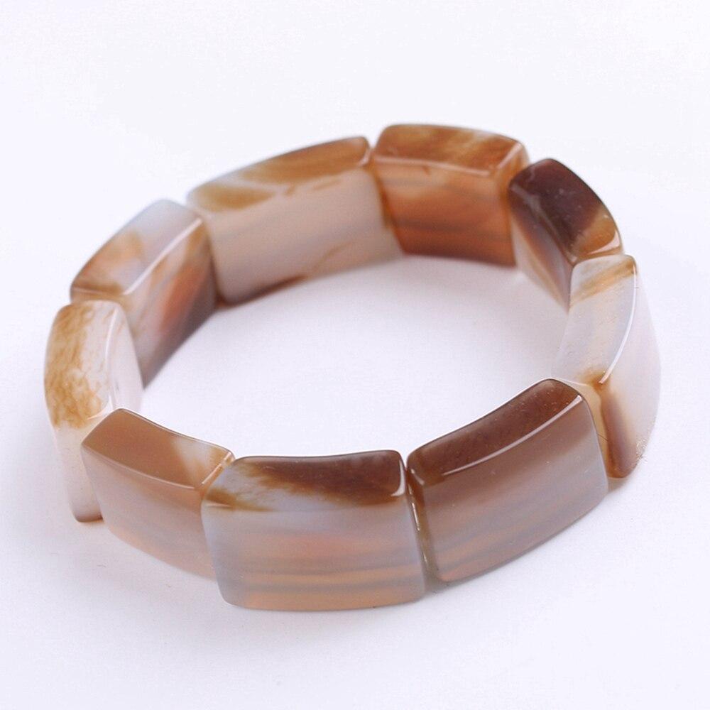 Original Genuine Beads Bracelet For Unisex Gray Agate Quartz Agate Natural Gemstone Agate Baltic Amber Healing Crystal Supplies 6pcs natural fluorite quartz crystal wand point healing