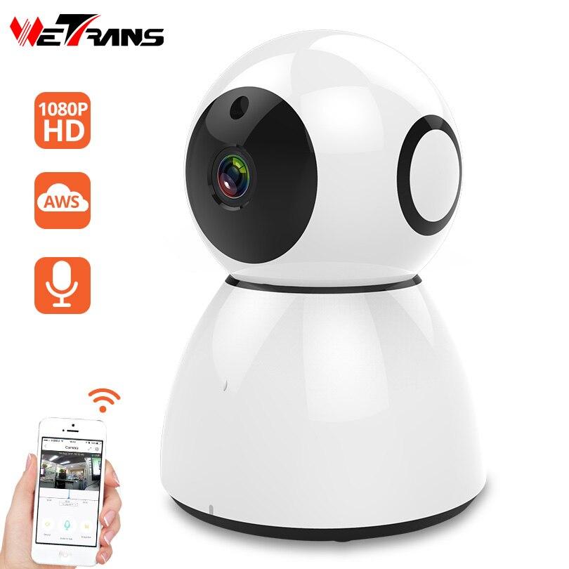 Wetrans IP Caméra Wifi 1080 p HD Cloud De Stockage Accueil de Sécurité Bébé Moniteur LED Lumière Mini caméra de Surveillance Intelligente Sans Fil CCTV caméra
