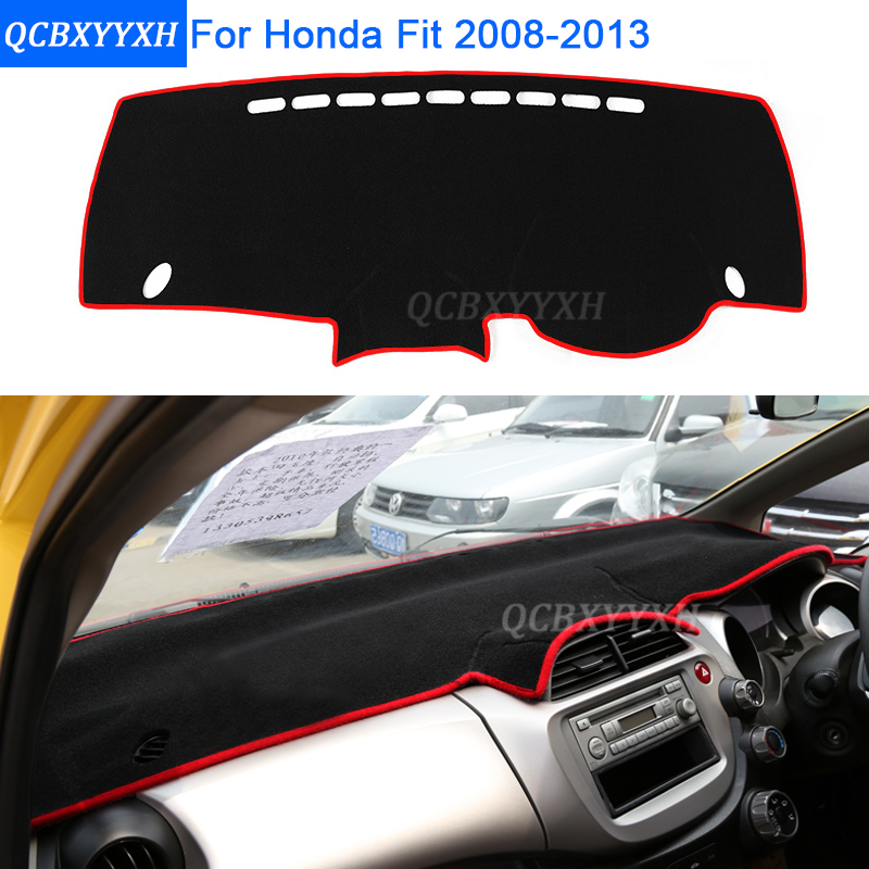 Car Styling Dashboard Avoid Light Pad Protective Mat Photophobism Interior Carpet For Honda Fit 2008 2017 Auto Accessories In Anti Dirty From