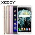 Xgody x11 5.0 pulgadas smartphone android 5.1 quad core 512 mb + 8 gb con cámara de 5mp teléfono móvil dual tarjetas sim de teléfonos