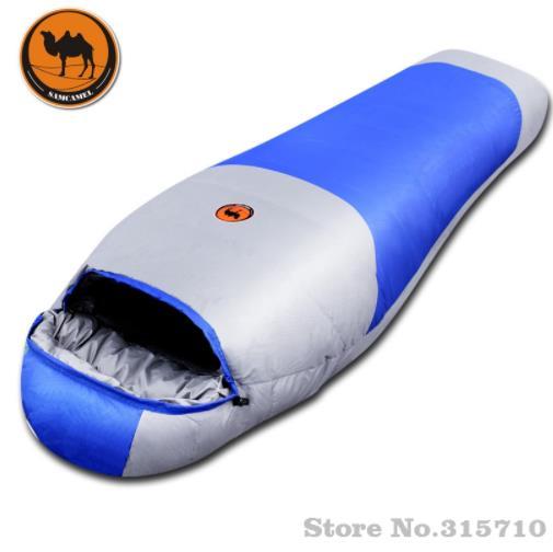 Наполнитель 1800 г утиный пух для взрослых теплый осенне зимний конверт с капюшоном для путешествий кемпинга водонепроницаемый толстый спал
