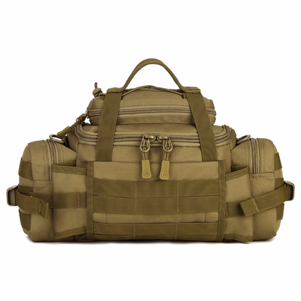 Outdoor Molle Tas Pinggang Tentera Kalis Air SLR Kamera Beg Pinggang Fanny Pack BELT BAG Tactics Large Shouder Messenger Bags 049