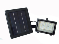 Light Control 30LED Solar Floodlights Outdoor Landscape Decorative Cast Light Billboard Lights Energy Saving Lamps