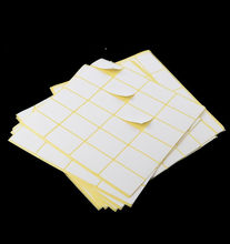 Many Sizes A5 Paper White Self adhesive Sticker Blank Printing Address Label For Inkjet Laser Printer 15 sheets(China)