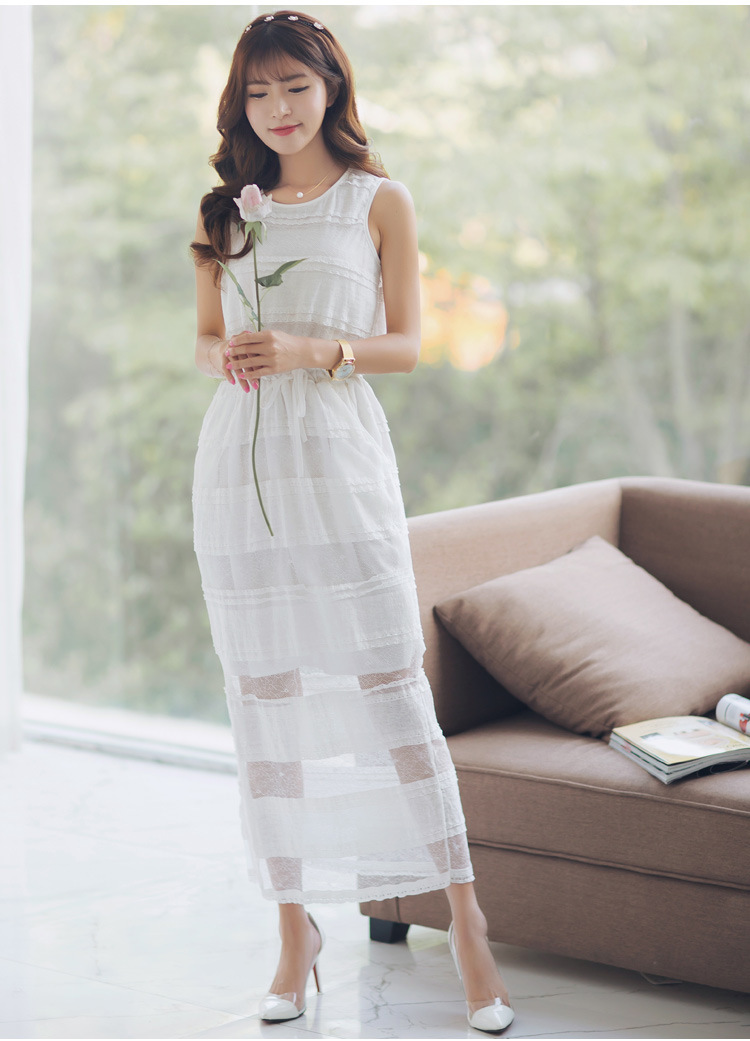 Long dress korean