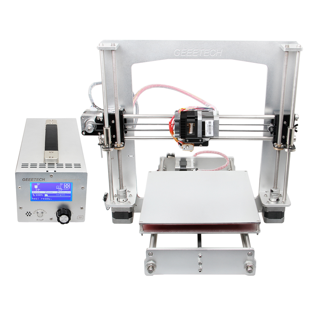 GEEETECH Aluminum Prusa I3 Pro 3D printer DIY kit 3-IN-1-Out Control Box GT2560 Main Board