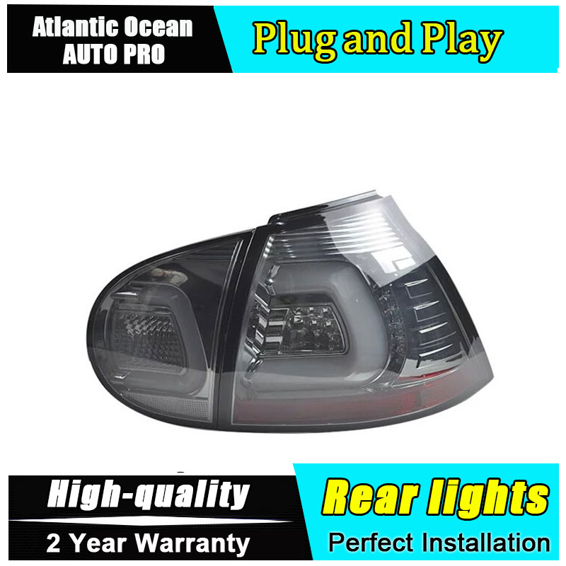 AUTO.PRO 2003-2008 for vw golf 5 led rear lights car styling golf mk5 led rear lamp parking vw golf 5 taillights led car free shipping 11x vw golf 5 gt 2003 2008 white led lights interior package kit canbus 107