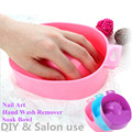 1Pcs DIY Nail Art Soak Bowl Hand Wash Remover Manicure Treament Polish Washing Tool Salon Nail Spa Bath Treatment Manicure Tools