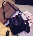 2016 Newest M Bucket Bag Gavriel All-Match Women PU Leather Hand Bag Top Famous Designer Bags Cross-Body Handbag composite bag