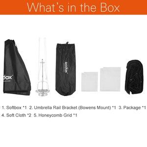 Image 2 - Godox 80 centimetri 31.5in Portatile Griglia A Nido Dape Ottagonale Ombrello Riflettore Softbox con Bowens Mount per Flash Speedlite