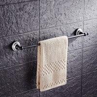 Antique bronze huilé salle de bains serviette barres noir, en laiton Toilettes mur pendaison porte-serviettes cru, cuivre unique serviette de rack