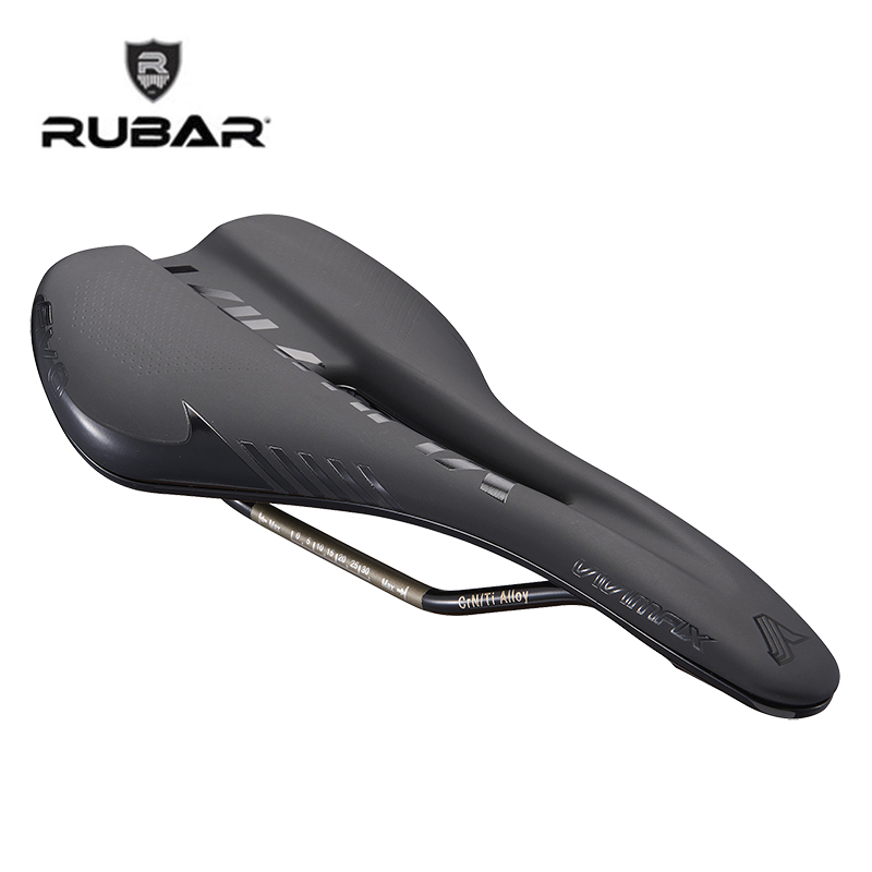 2018 New RUBAR Bike Saddle Mtb Bicycle Saddle Leather PU Soft Bike Seat Cycling High Quality Bicycle Parts Sillin Bicicleta in stock road bicycle saddle seat white blue black orange antares r3 gobi cycling high quality bike parts