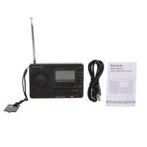 Image 3 - דיגיטלי כוונון LCD מקלט TF MP3 REC נגן נייד AM FM SW מלא להקת רדיו