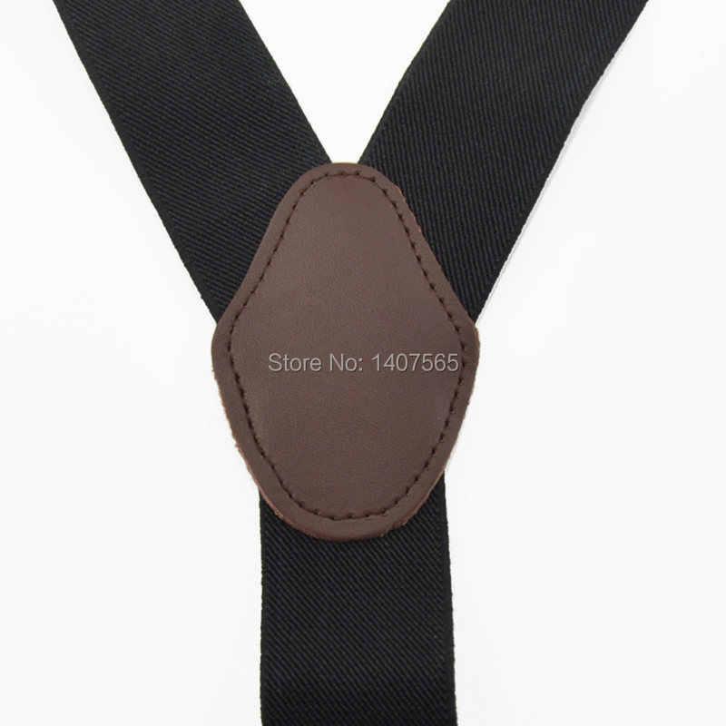 Взрослые хорошего качества женские подтяжки Мужские ужина на подтяжках 4 клип на Y-Back Черные Эластичные подтяжки чулок 3,5 см Ширина