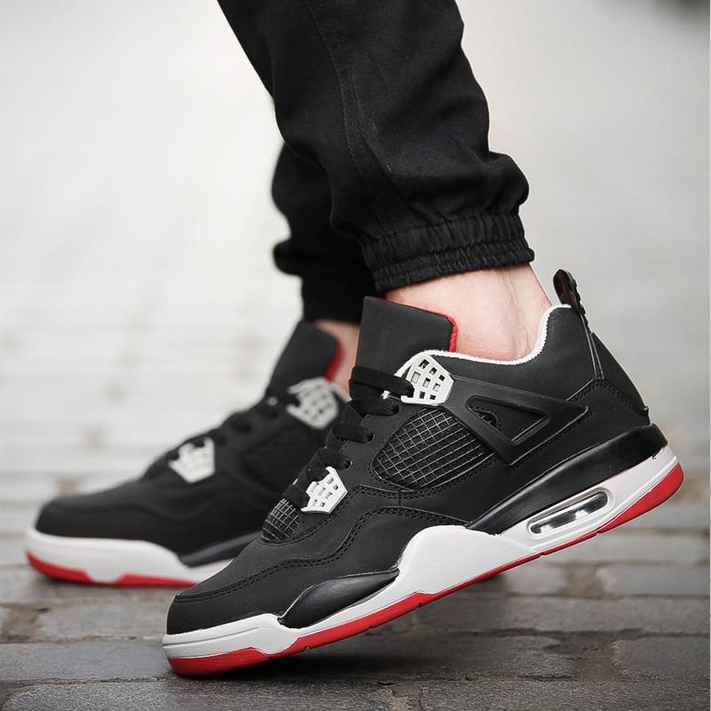 pas mal 8473c f031a € 19.41 41% de réduction Hommes femmes chaussures de Basket Jordan  respirant léger entraînement baskets amorti antidérapant Couple Jordan  chaussures ...
