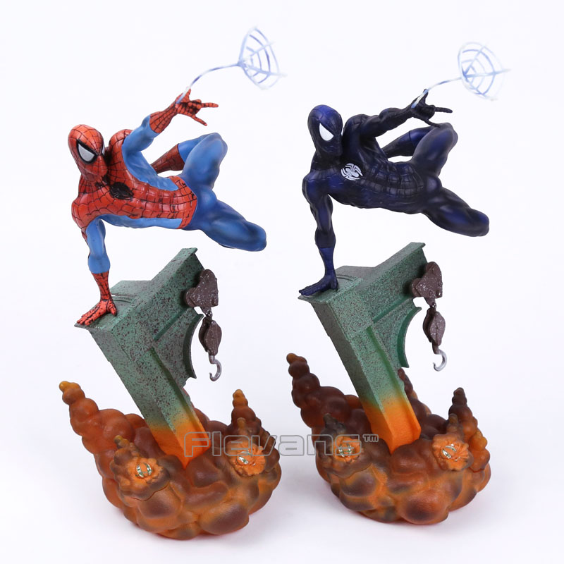 Sideshow Marvel Spiderman The Amazing Spider-man PVC Figure Collectible Model Toy 2 Colors 29cm marvel sideshow spiderman the amazing spider man 2 colors pvc action figure collectible model doll toy 29cm kt3662