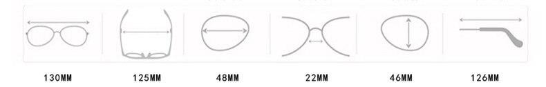 Luxury vintage Mirror Brand Designer Sunglasses Women/Men CLOVER JEWELLERY