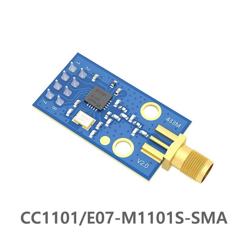 E07-M1101D-SMA 10mW 433MHz CC1101 Rf Transceiver Module SMA Interface RF Module