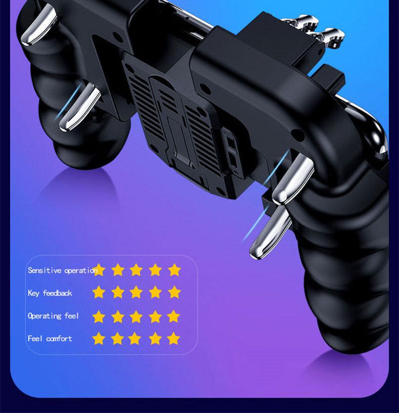 Controlador PUBG gatillo de juego móvil 2