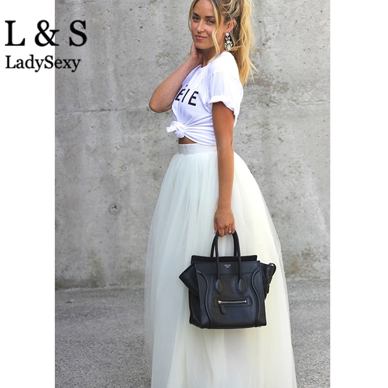 White Skirt Maxi - Dress Ala