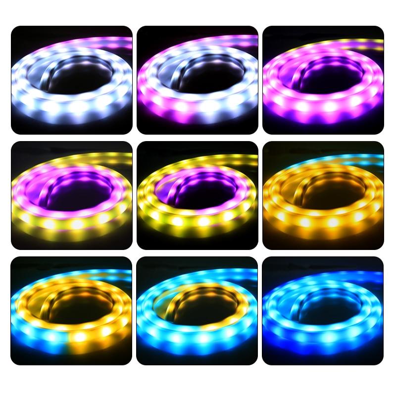 WS2811 10IC 30led pelangi tiub putih fleksibel yang diketuai jalur - Pencahayaan perayaan - Foto 2