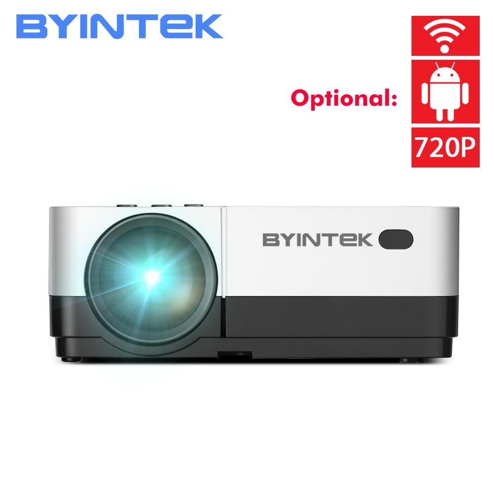 BYINTEK CÉU K7 1280x720 LED Mini Micro HD Projetor com HDMI USB Para O Jogo De Vídeo Portátil Filme 1080 P Cinema Home Theater
