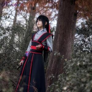 Image 3 - Anime Dao Mo To Shi Cosplay Wei Wuxian Jiang Cheng Costume Grandmaster of Demonic Cultivation Mo Dao Zu Shi Cosplay Costume Men
