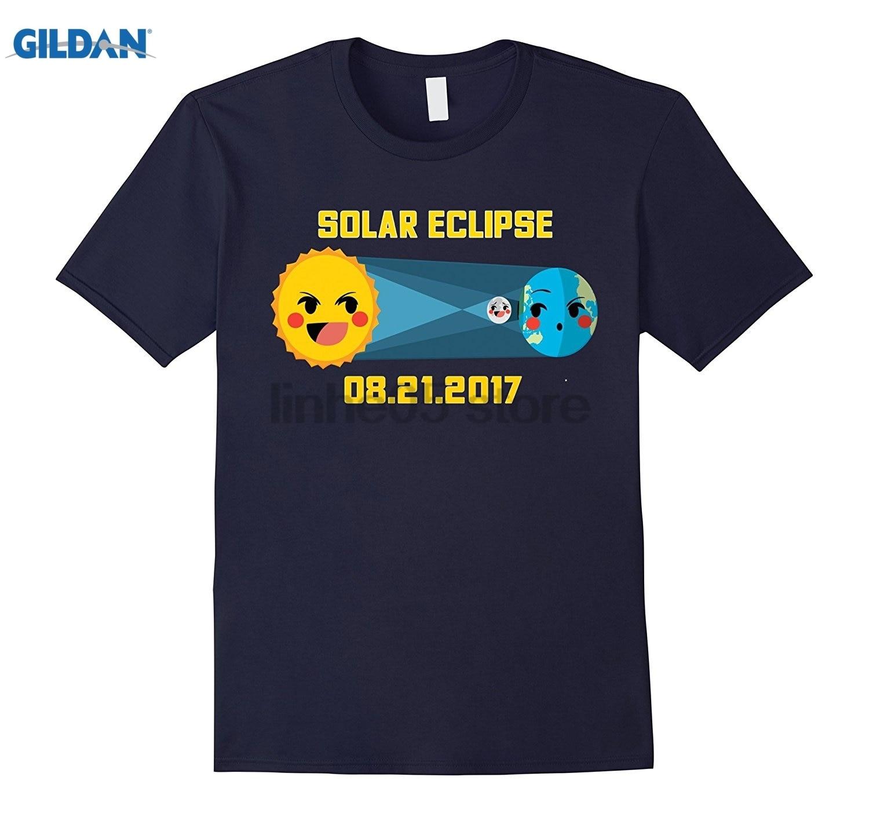 GILDAN August 2017 Solar Eclipse Tee - Kids Cartoon Shirt Mothers Day Ms. T-shirt