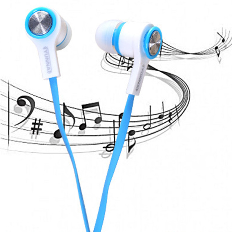 Universal In-Ear Earphone Special Earphone with Mic for Cell Phone Sport Earphone Stereo Wired Noise Isolating Headset for Pc