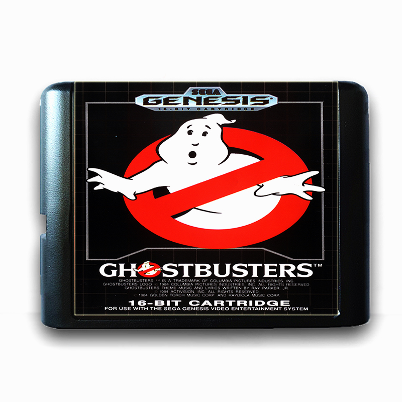 Ghostbusters for 16 bit Sega MD Game Card for Mega Drive for Genesis US PAL Version Video Game Console