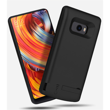 6000mAh External Power Bank Battery Charger Case For Xiaomi MIX 2 Portable Backup Battery Charging Cover For Xiaomi MIX 2 Capa аксессуар чехол xiaomi silicone case for power bank 2 10000mah blue