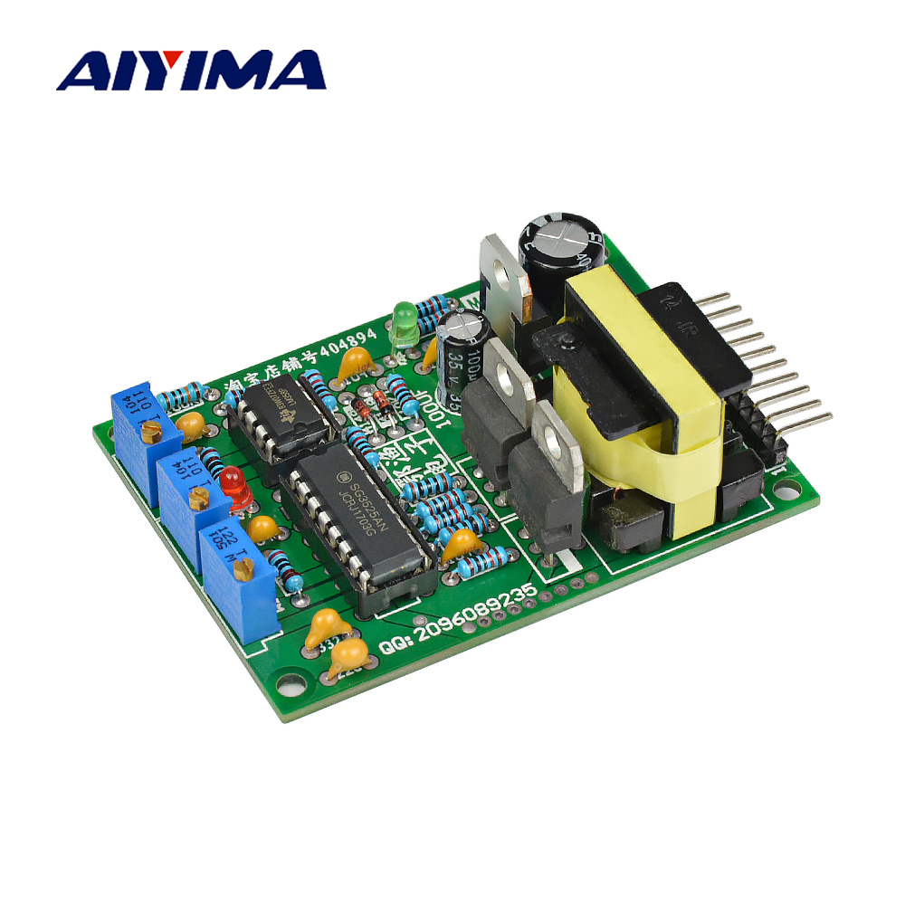 цена на Aiyima Inverter Pre-driver Module SG3525 High Power Transformer Isolated Drive Board