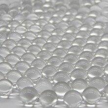 Good quality 3-6 mm High precision solid sling shot glass balls transparent marbles decoration