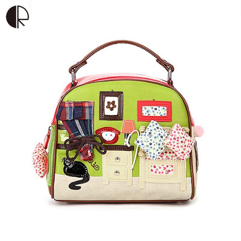 ФОТО 2016 Women Shoulder Bag Italy Braccialini Handbag Style Retro Handmade Bolsa Feminina Braccialini For Ladies BH780