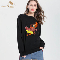 16ccd6bff SISHION Sweater Spring Streetwear Pull Femme 2019 New Sequin Embroidery  Cartoon Tiger Letter Pattern Sweater Women