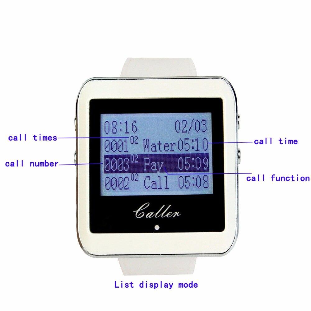 RETEKESS Wireless Waiter Calling System Мейрамханаға - Кеңсе электроника - фото 3