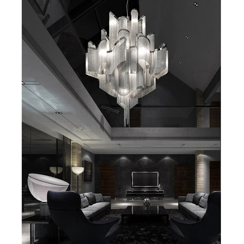 Atlantis Suspension Light Stream Pendant Light By Barlas Baylar from Terzani Ceiling Lamp Lighting Fixture