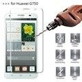 2.5d 0.26mm 9 h prima de cristal templado para huawei honor 3x protector de pantalla de vidrio templado película protectora para huawei g750 *