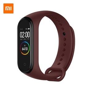 Image 4 - Xiao mi mi Smart Band 4 Bracelet NFC & Li mi ted Edition 0.95 pouces écran 5ATM étanche capteur de fréquence cardiaque mi band Bracelet mi Fit